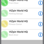 VIZpin SMART updated for iOS Devices