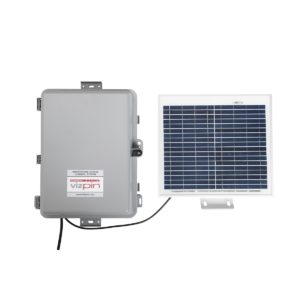 Solar-Powered Access Control System for Remote Locations